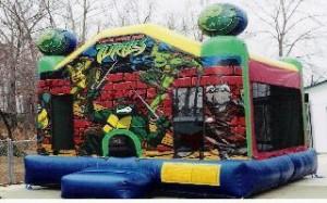 Ninja Turtle - 13' X 13' moonbounce