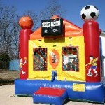 Sports Arena - 13' X 13' moonbounce