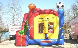 15' X 15' Four in One Sports Combo