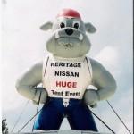Advertising Balloon - Bart the Bulldog - 25' Cold Air
