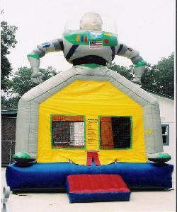 Buzz Light Year - 13' X 13' moonbounce
