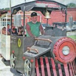 "Trackless Train  ""The Howell Party Express"""