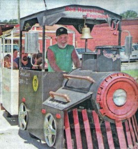 """Trackless Train  """"The Howell Party Express"""""""