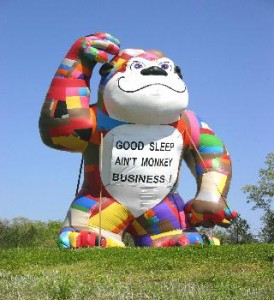 Advertising Balloon - Patches - 25' Cold Air