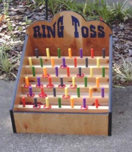 Midway Game  Ring Toss