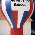 Advertising Balloon - 20' Cold Air