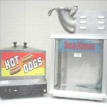 Hot Dog Steamer & Sno-Cone Machine